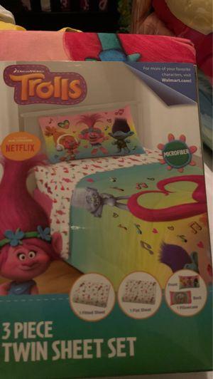 Trolls bed set for Sale in Montclair, CA