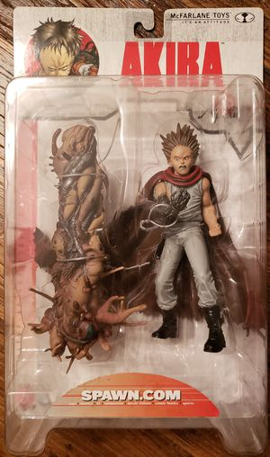 Akira Tetsuo figure from Todd Mcfarlane Toy's 2000 line. Great shape and never opened! for Sale in San Antonio, TX