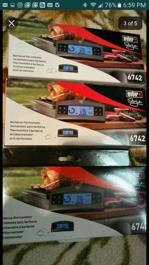 New Weber style BBQ digital thermometer model number 6742 for Sale in Alexandria, VA