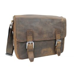 Vegabond Traveler Full Grain Cowhide Leather Casual Messenger Bag L60 for Sale in Orlando,  FL