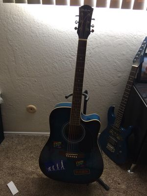 Acoustic electric guitar for Sale in Vista, CA