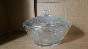 Med Crystal candy dish w/lid for Sale in Gresham, OR