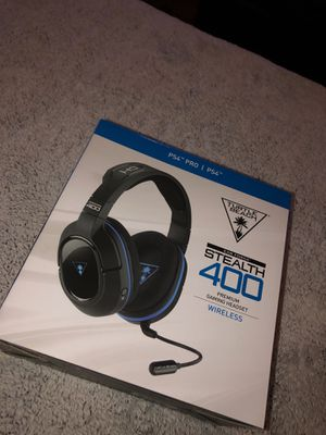 PS4 Turtle Beach Stealth 400 Bluetooth wireless Gaming headset for Sale in Humble, TX