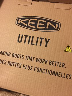 Keen Work Boots 11.5 ALUMINUM TOE for Sale in Lakewood,  CA