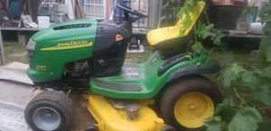 John Deer L130 riding lawn tractor (lots of new parts/like new) for Sale in Fairview, OR