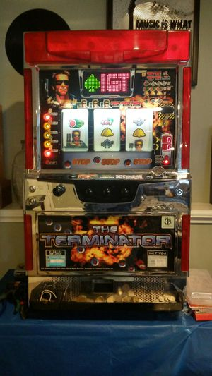 Original terminator slot machine for Sale in Fall River, MA