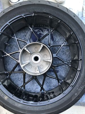 Harley Davidson Rims n Tires! Barely used!!! for Sale in Corona, CA