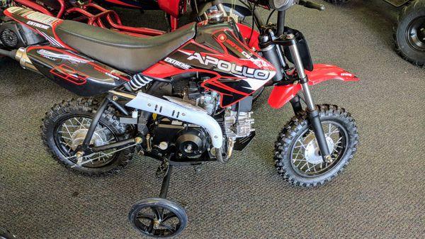 70cc Apollo Kid's Dirt Bike