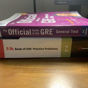 GRE Prep/ Practice Test Books for Sale in Irvine, CA