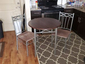 Breakfast Table and two Chairs for Sale in Murfreesboro, TN
