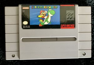 Super Mario World for SNES for Sale in Mission Viejo, CA