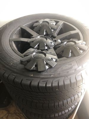 Tire and KMC onky 2000 miles on them for Sale in Fort Lauderdale, FL