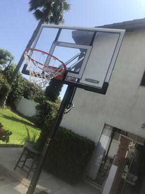 Basketball hoop system original lifetime brand - pick up at Yorba Linda for Sale in Yorba Linda, CA