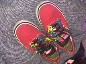 Sneakers, marvel comic collection vans for Sale in North Attleborough, MA