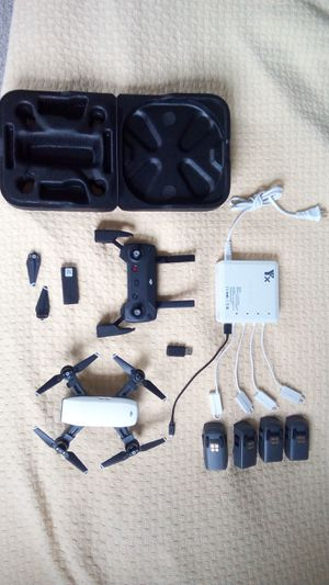 DJI Spark with 3 batteries and advanced charger for Sale in Newington, NH