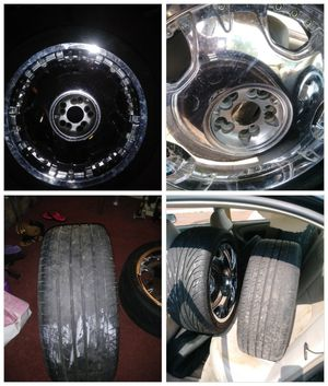 All weather tires and rims for Sale in Baltimore, MD