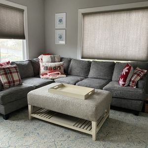Sectional & Ottoman for Sale in Medford, MA