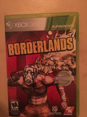 Xbox 360 borderlands for Sale in Visalia, CA