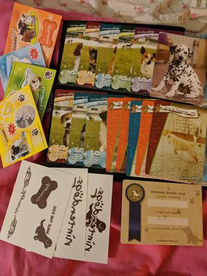 Nintendogs Set of 15 Cards As Pictured No Repeats 4 Sticker Sets 3 Tattoos for Sale in Manassas, VA