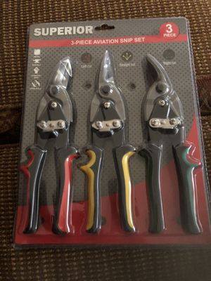 Set 3 aviation snip brand new for Sale in Chino, CA