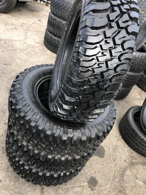 255/75R17 BFGoodRich m/t tires (4 for $500) for Sale in Carson, CA