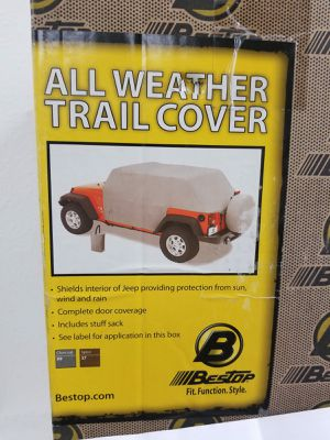 All Weather Trail Cover for Jeep Wrangler 2-DR 07 - Current, Part# 81040-09, Brand New! for Sale in Fullerton, CA