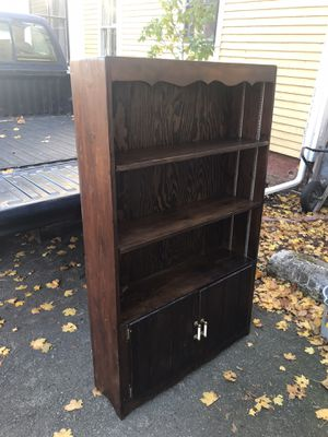 Book shelf/cabinet for Sale in Middleborough, MA