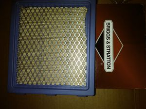 Air filter for riding lawn mowers lawn mowers and tractors $3.50 UMP for Sale in San Antonio, TX