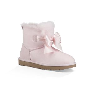 Women's Ugg boots Gita Mini Bow pink size 6 NEW for Sale in Escondido, CA