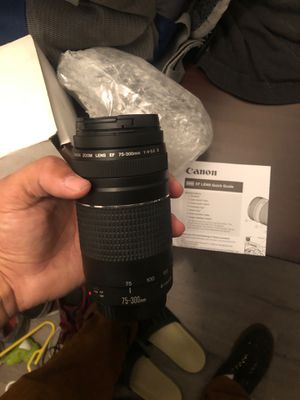 Canon EF lens for Sale in Los Angeles, CA