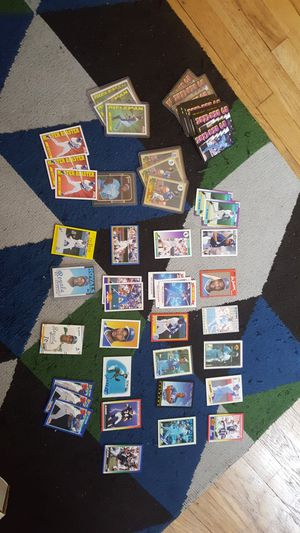 75 Bo Jackson cards. Baseball football. Mlb and NFL. Rookies! for Sale in Portland, OR