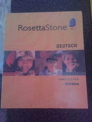 Rosetta Stone German for Sale in San Diego, CA