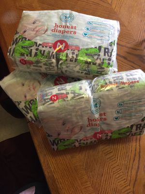 New diapers - newborn for Sale in Easton, PA