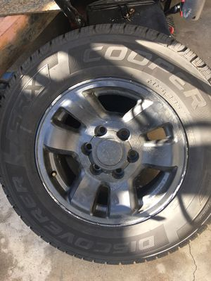 Toyota truck stock wheels 235/70/16 tires for Sale in Alta Loma, CA