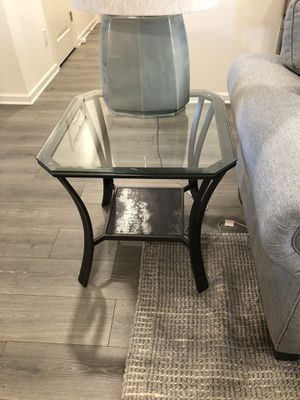 Glass top end tables (3) for Sale in Mt. Juliet, TN