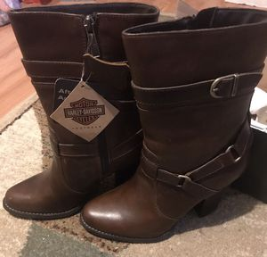 Brand New Brown Harley Davidson Boots for Sale in Cleveland, OH