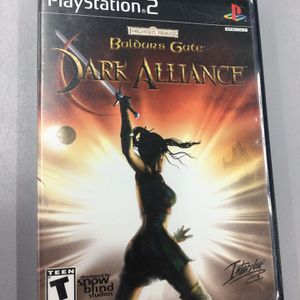 Baldur's Gate Dark Alliance for PS2 / PlayStation 2 for Sale in Kent, WA