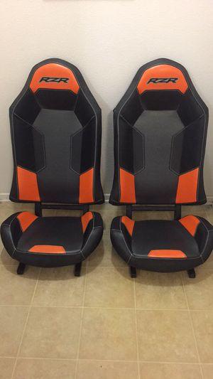 Polaris RZR XP1000 Seats orange / black for Sale in San Marcos, CA