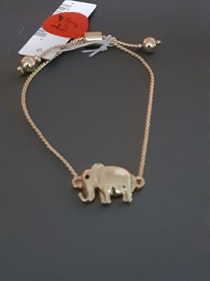 New elephant adjustable bracelet for Sale in Yonkers, NY