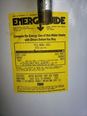 Water heater electric for Sale in Sun City, TX