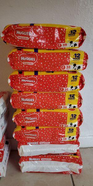 Huggies size 2 for Sale in Miami, FL