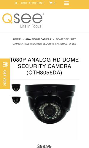 Q SEE smart security system camera for Sale in Goleta, CA
