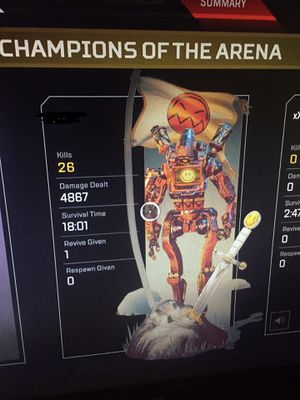 Apex legends 4K 20 kill badge XBOX ONLY for Sale in San Pablo, CA