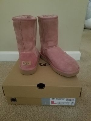 Pink Classic Short II Waterproof Ugg Boots for Sale in Tyrone, GA
