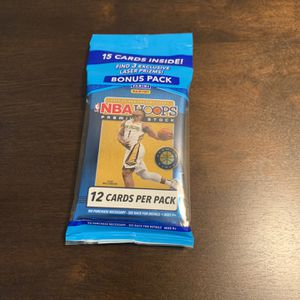 2019-20 Panini NBA Hoops Premium Stock Cello Pack Brand New Factory Sealed for Sale in Riverside, CA