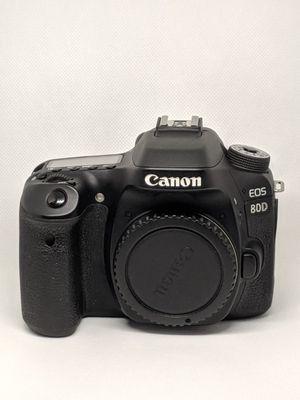 Canon EOS 80D for Sale in Atlanta, GA