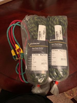 Climbing Rope - Sterling Gym Rope Series - Big Gym for Sale in Tampa, FL