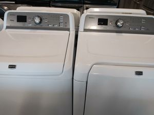 Maytag wascher and electric drayer good condition 90 days warranty for Sale in Washington, DC