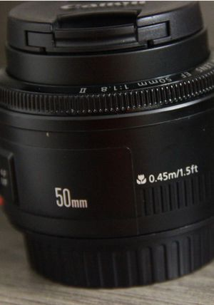 New Canon - EF 50mm f/1.8 ii for Sale in MONTGOMRY VLG, MD