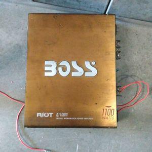 Boss Car Amplifier for Sale in Sunnyvale, CA